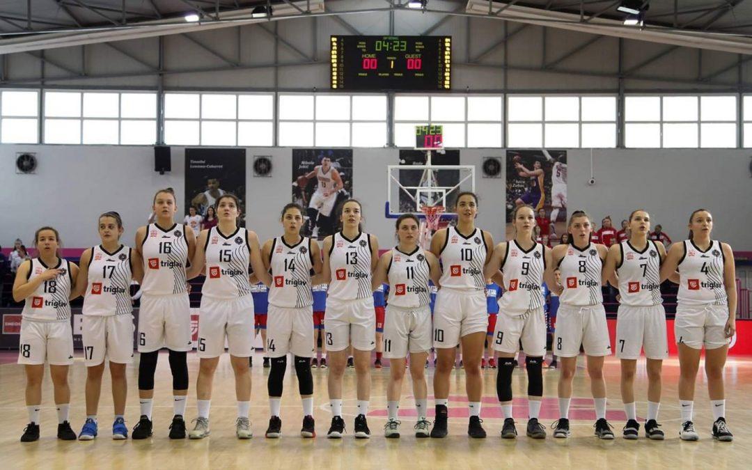 Košarkašice Partizana 1953 osvojile su treće mesto i bronzanu medalju